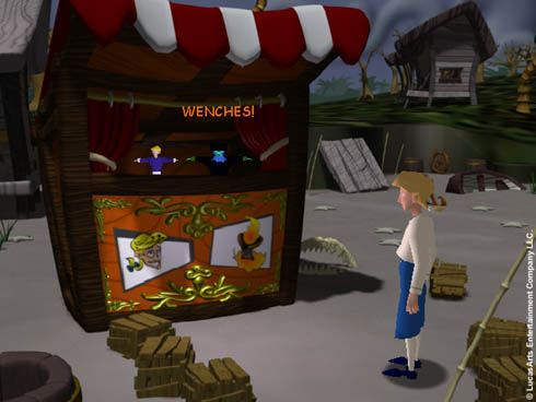 Review Escape From Monkey Island (PC) Por Sylux Screen6